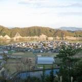 秦 石畳神社からの風景