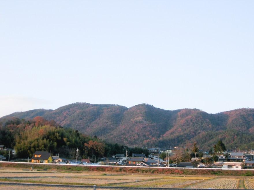 正木山(久代から望む)