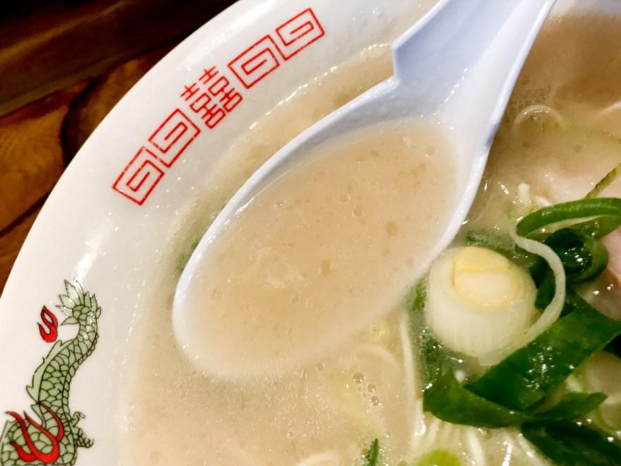 長いち:どとんこつラーメン スープ