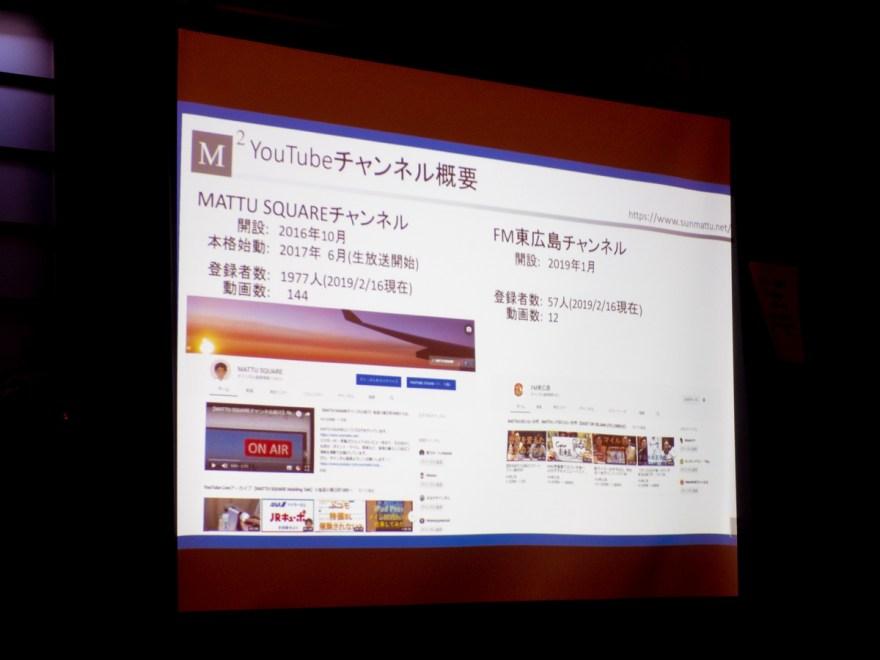 第22回 岡山ブログカレッジ MATTU YouTubeチャンネル概要