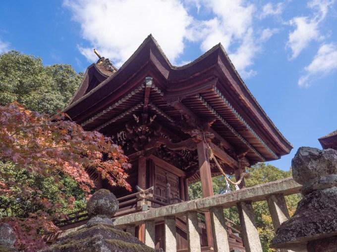 第1回倉敷とことこ 春の交流会@倉敷美観地区:阿智神社の紹介(本殿)