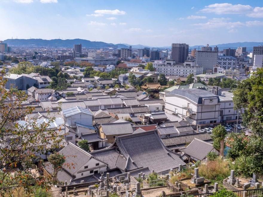 第1回倉敷とことこ 春の交流会@倉敷美観地区:阿智神社の紹介(絵馬殿からの眺望)