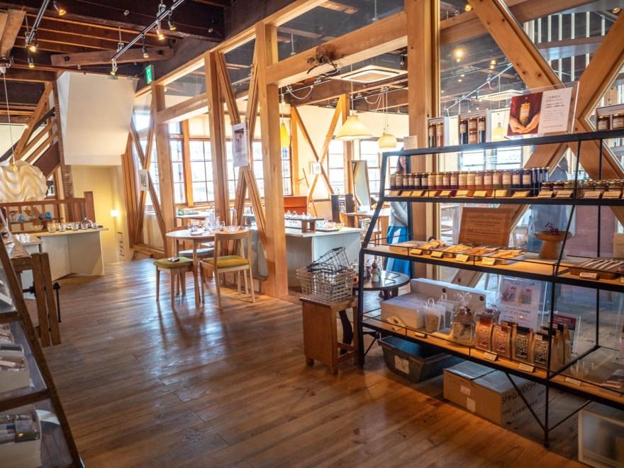 shop&cafe三宅商店:店へ入る部分