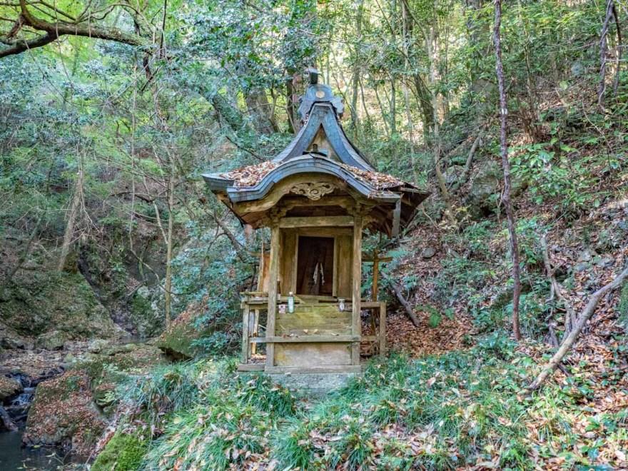 血洗の滝・血洗滝神社:血洗滝神社