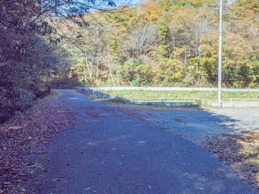 血洗の滝・血洗滝神社:道順・駐車場