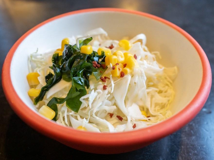 ボギィ:ビジネスカレー(ビフカツ)のサラダ