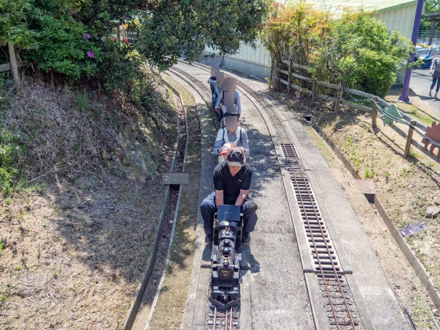 一本松展望園:ミニSL運行風景