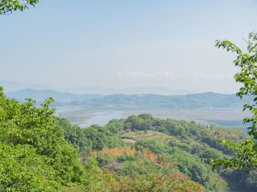 一本松展望園:展望台からの眺め