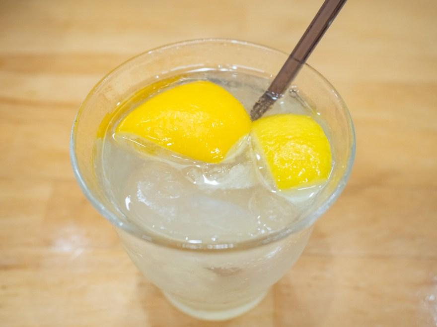ふじ心:レモンサワー