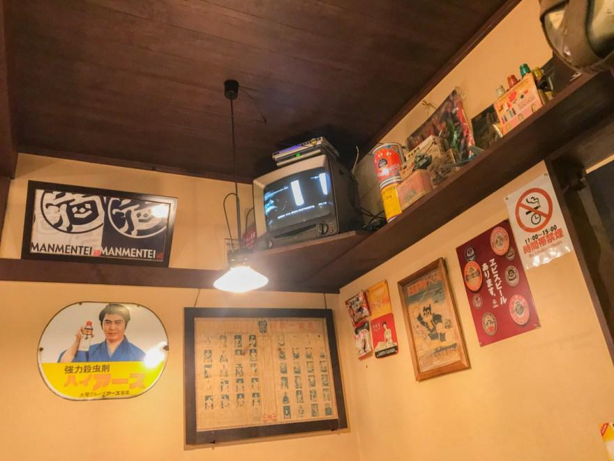 満麺亭:店内のようす
