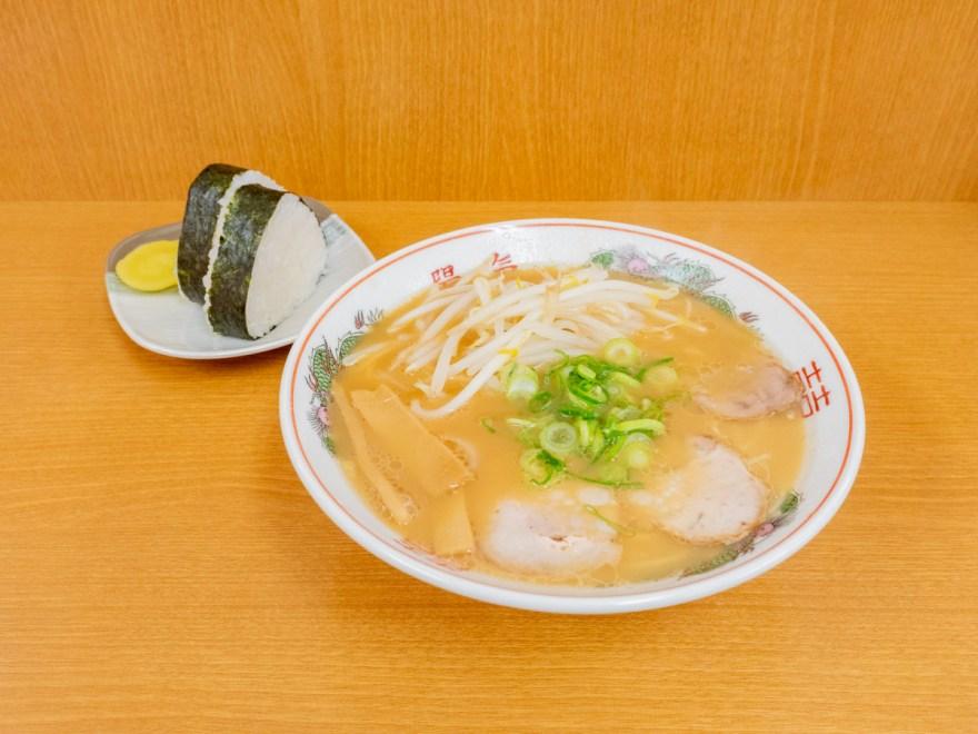 陽気 福山店:ラーメン(中華そば)とおむすび
