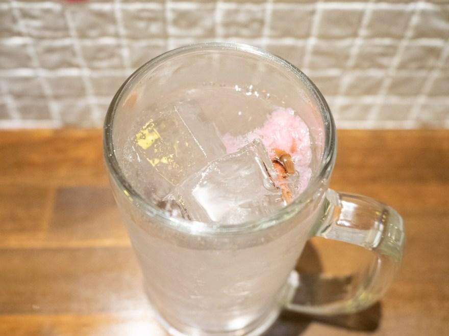 ひろや:桜サワー