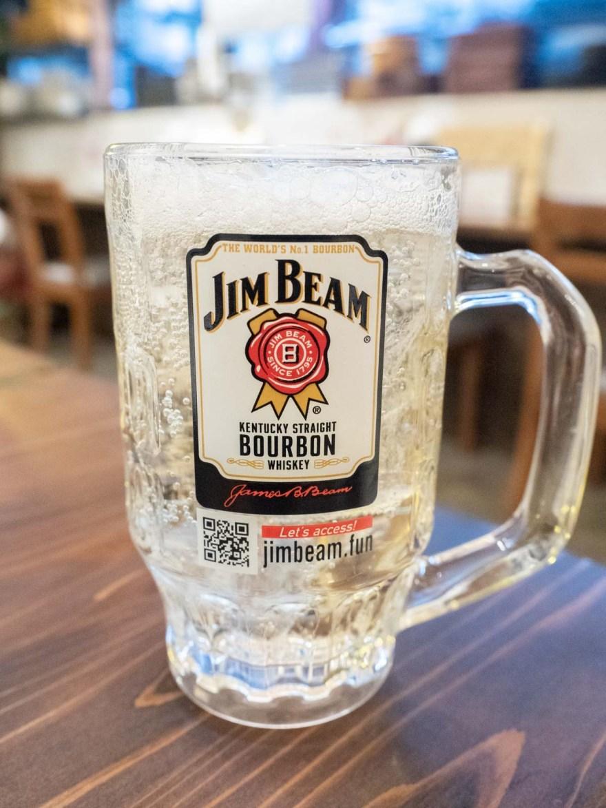 ひろや:ジムビール