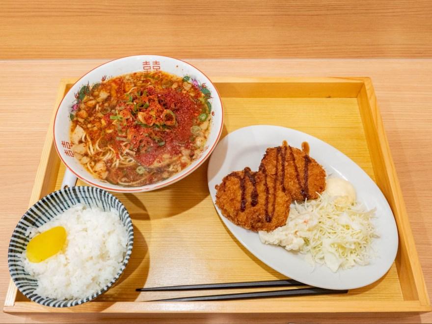 渡なべ:日替わり定食(コロッケ)