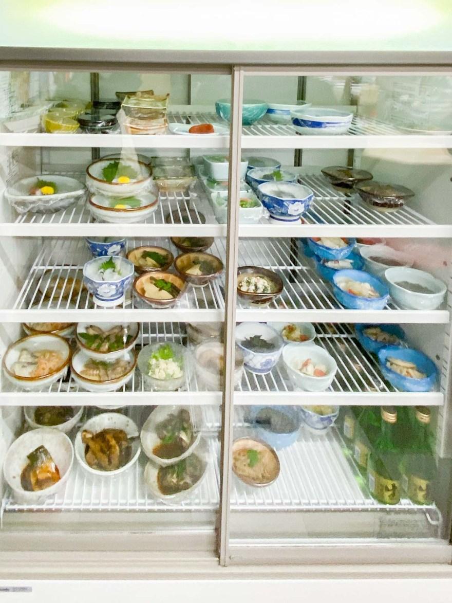 自由軒:冷蔵ケース