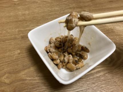 納豆_二代目福治郎_大袖振り02