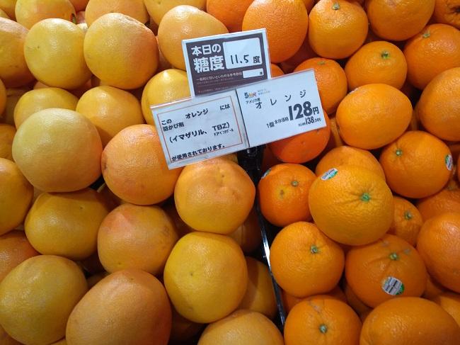 防カビ剤 オレンジ