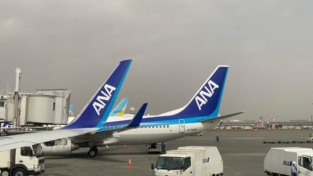 ANA AirDO 新千歳空港