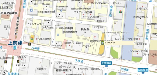 fuwaku map