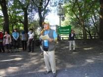 自然保護部長の挨拶