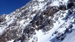 ➂赤岳主稜取付き