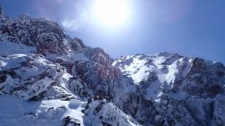 ⑧赤岳西壁主稜Ⅱ