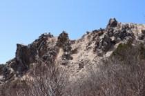 明王の禿(三国山~赤坂山の途中)
