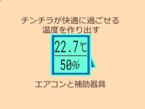 チンチラの温度対策