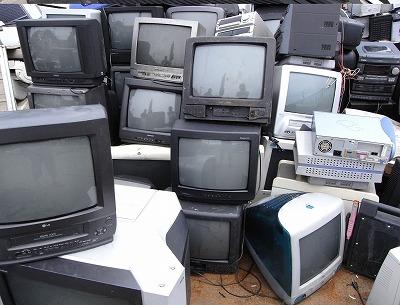 水戸、テレビの回収、処分リサイクル