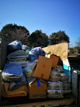 茨城県水戸市の粗大ごみ、布団の処分
