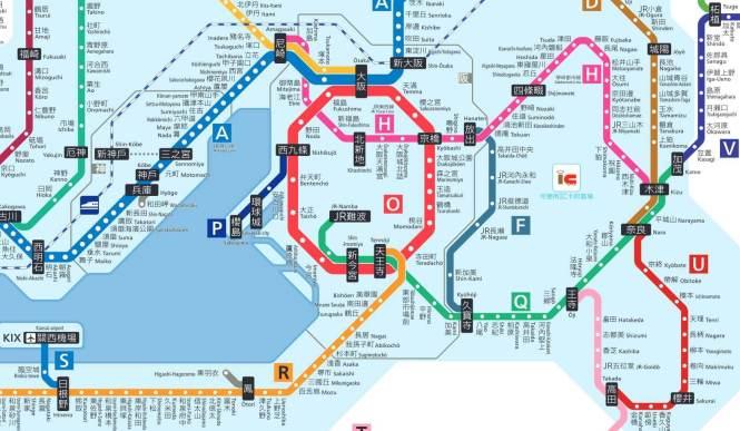 JR路線圖