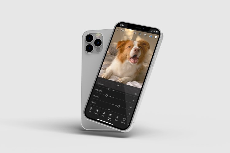 editing pet photos iphone