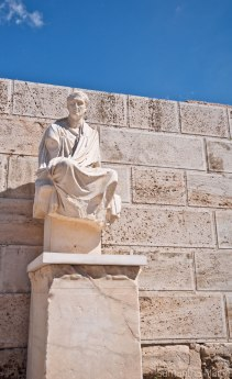 Statue at the Acropolis