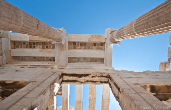 Propylaea ceiling