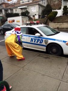 Clown NYPD