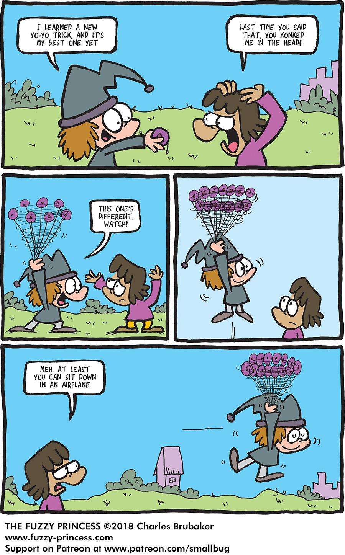 New Trick – The Fuzzy Princess