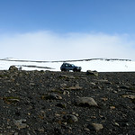 Super Jeep On top of Myrdalsjokull Iceland