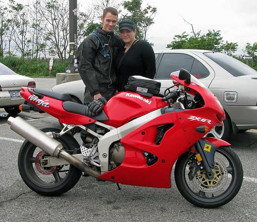 Saying goodbye to my 1998 Kawasaki ZX6R Motorcycle