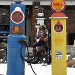 Vintage Shell Gas Pumps Cromwell Ct