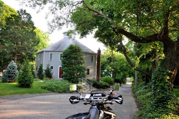 Octagonal House Barn Stonybrook Long Island