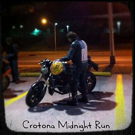 Captain America at the Crotona