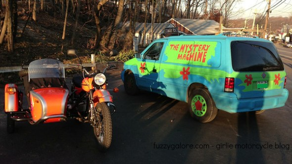 ural and the mystery machine