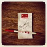 free hotel pen note