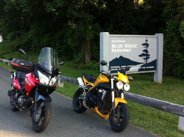 Blue Ride Parkway Sign