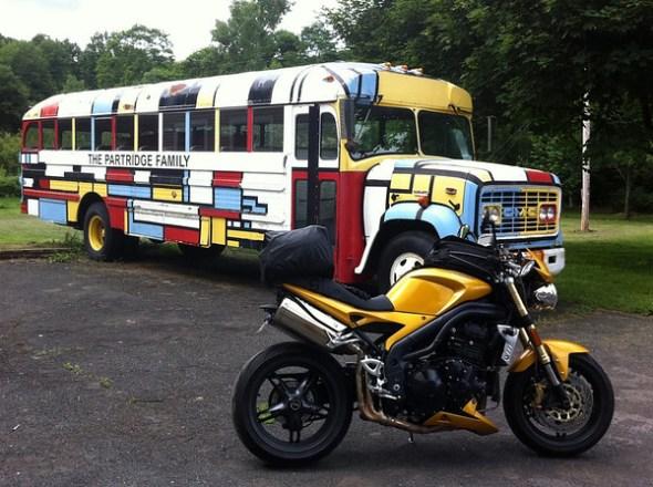Patridge Family Bus - Ashland New York