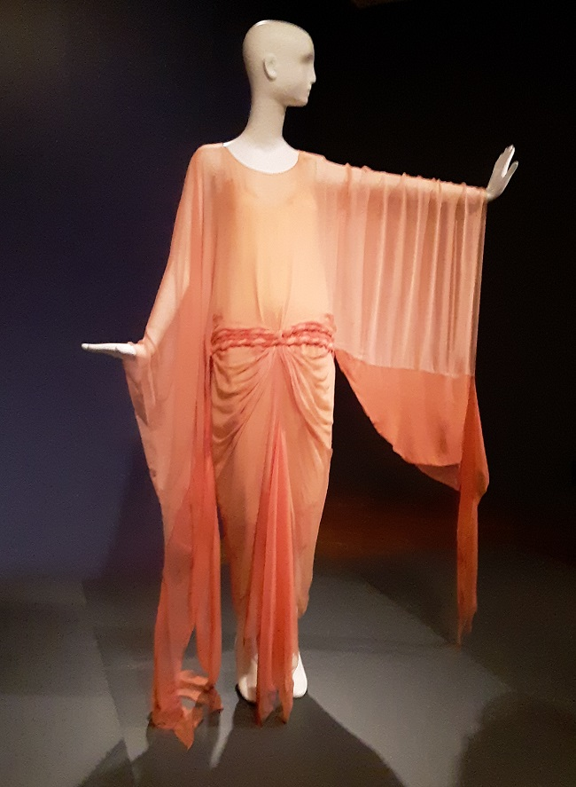 Circa 1928 evening dress from E.L.Mayer, Collection of the Cincinnati Art Museum