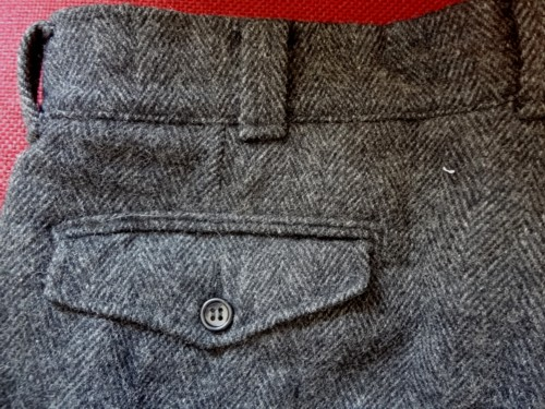 42fd12d568caa However, I did find and buy another pair of vintage Woolrich pants. There  were men's trousers, made from a very heavy wool herringbone.