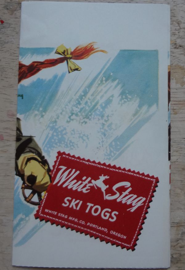 9dc84c41bfe A recent addition to my sportswear archive is this little folder from White  Stag of Portland