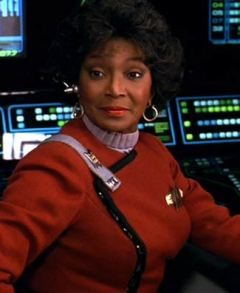 That's COMMANDER Uhura!