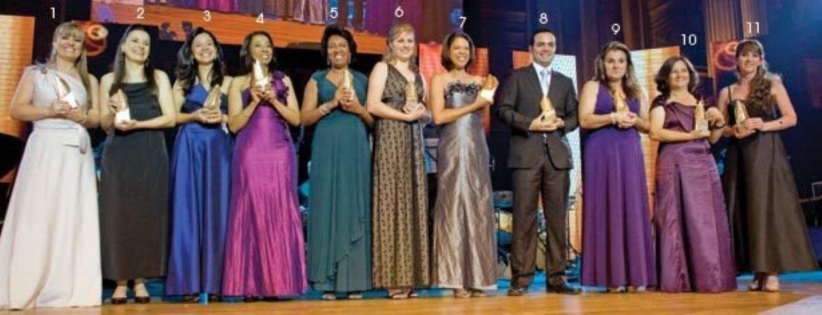 Os vencedores de 2010